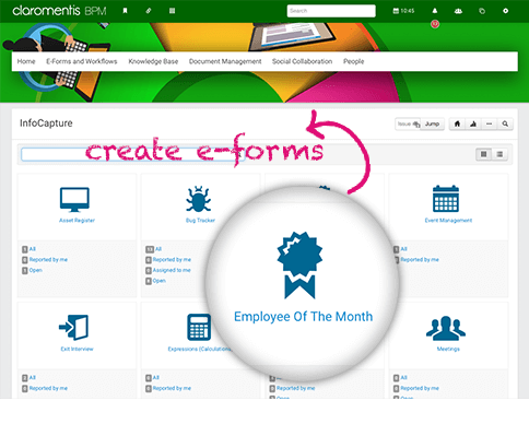 e-Forms and Workflows