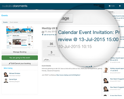 Intranet Notifications