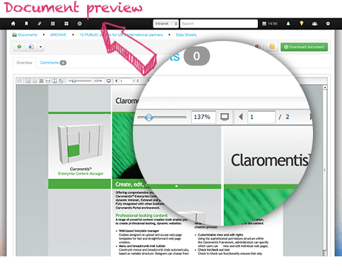 Document Management Software | Preview Documents