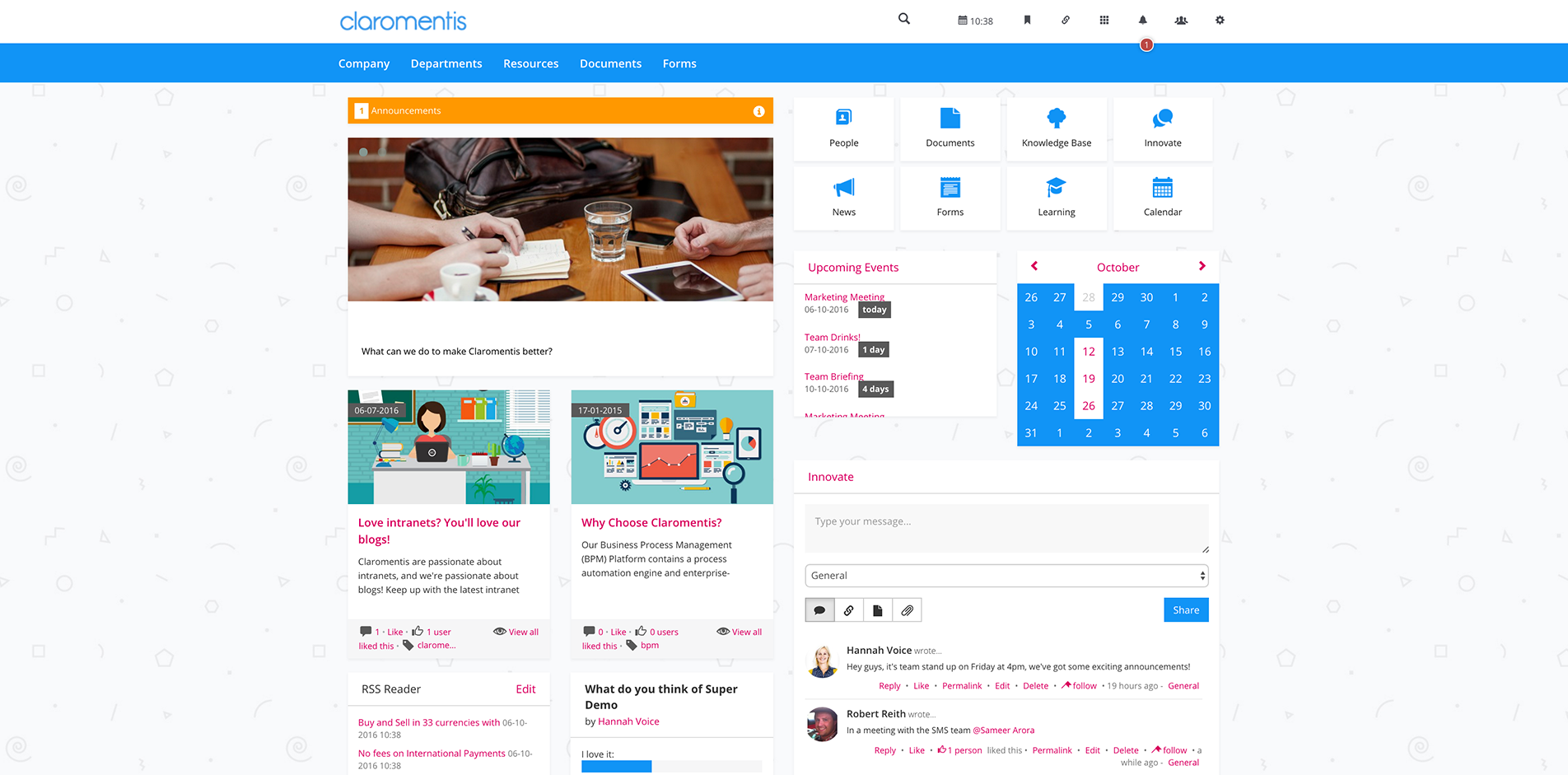 Sharepoint site design ideas - Intranet Design Ideas