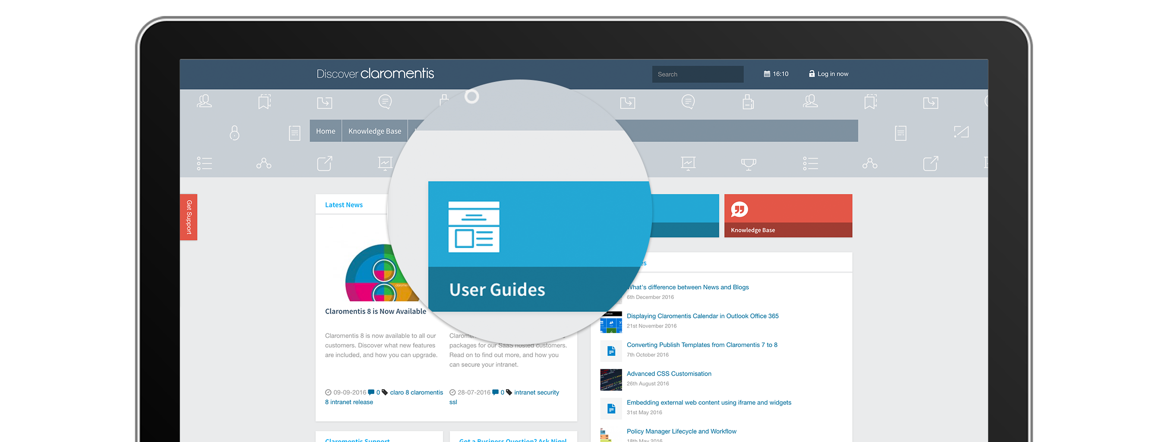 Claromentis User Guides