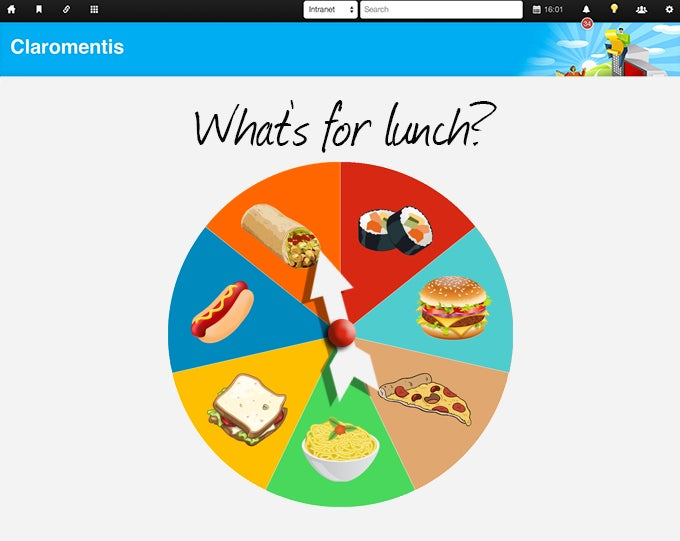 Lunch Spinner