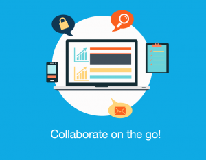 online collaboration with an intranet software app