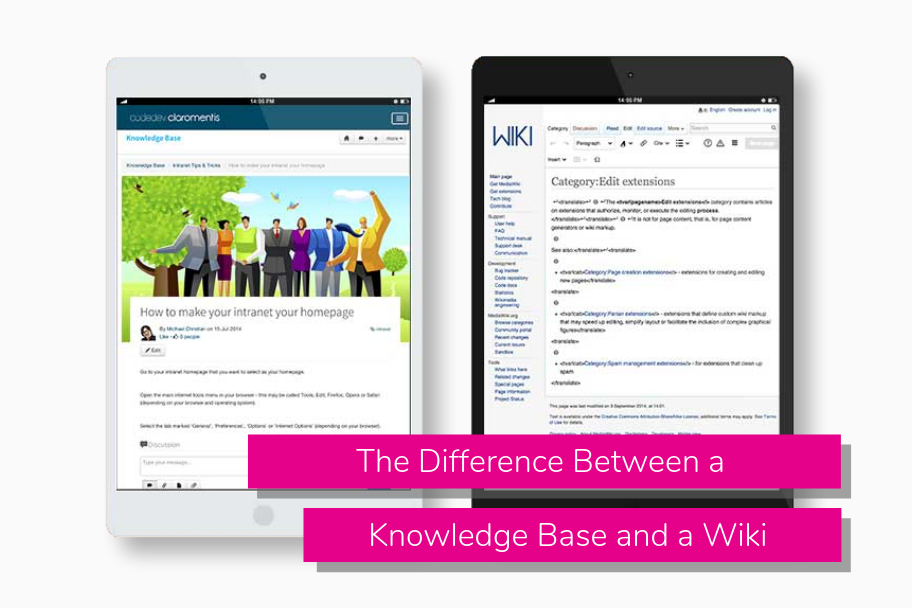 The Difference Between a Knowledge Base and a Wiki | Claromentis