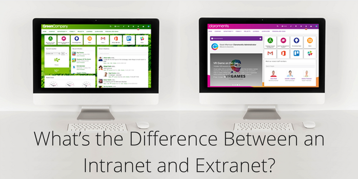 What's the Difference Between an Intranet and Extranet? | Claromentis