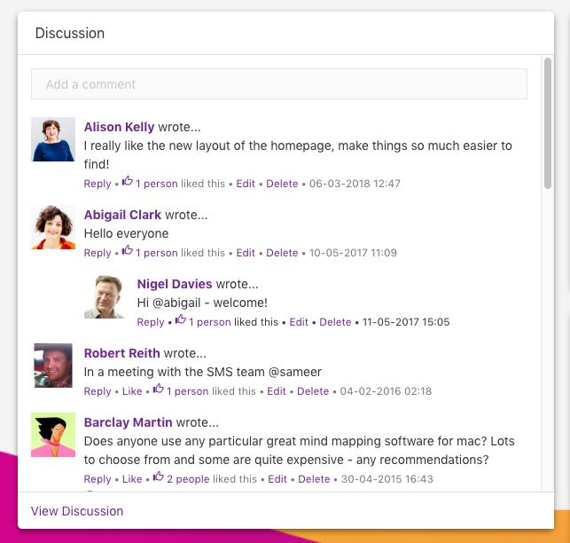 Corporate social networking | Claromentis