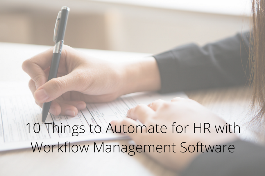 10 Things to Automate for HR with Workflow Management Software | Claromentis