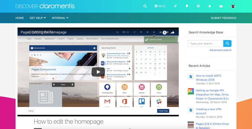 Watch our video user guides in Discover