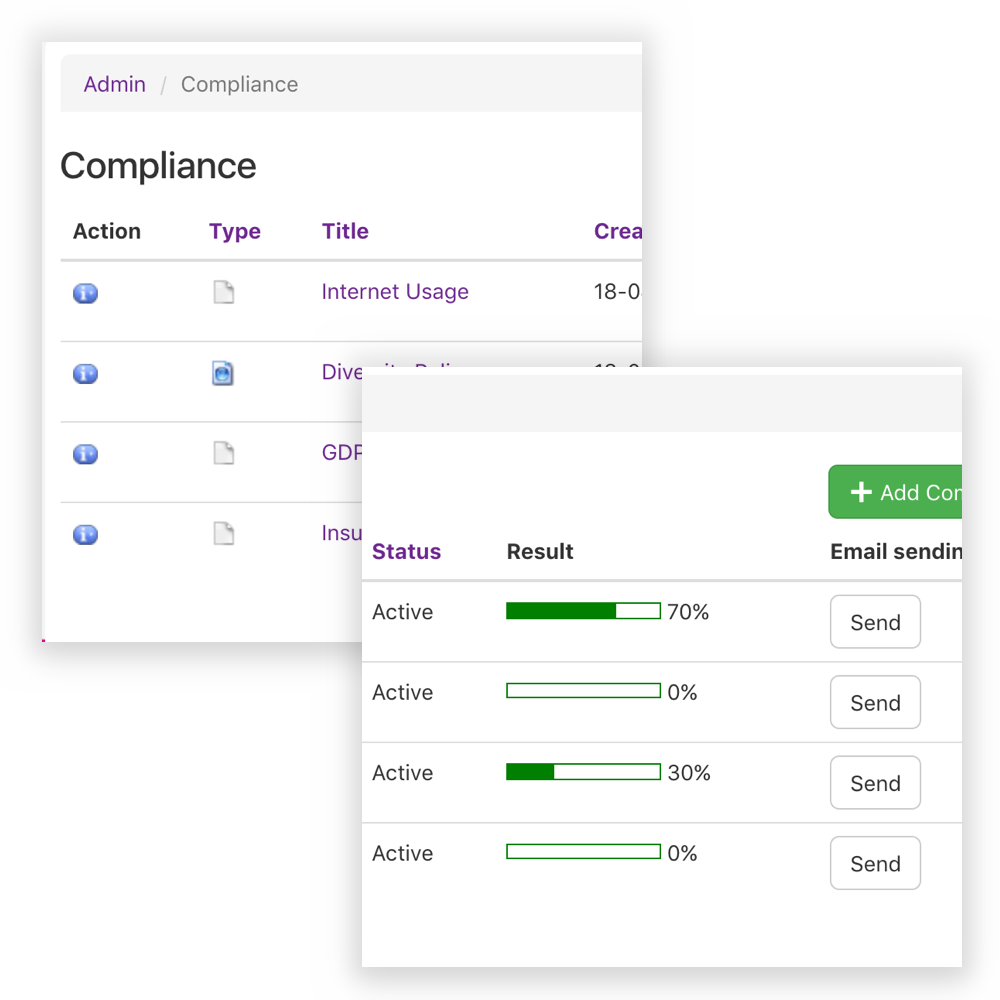 Step 3 - Manage Compliance
