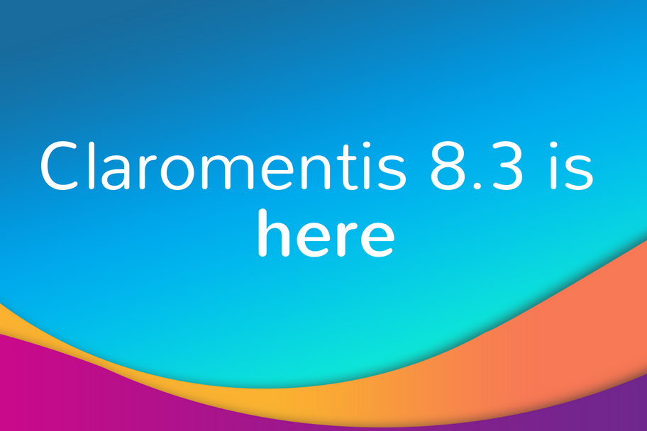 Claromentis 8.3 is here | Claromentis