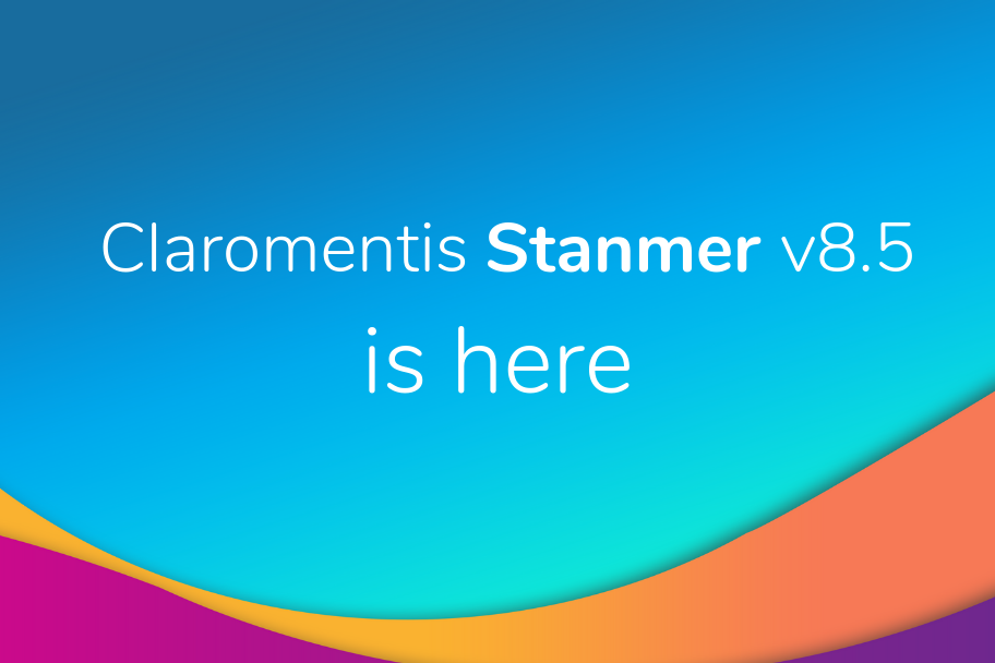 Claromentis Stanmer 8.5 is here