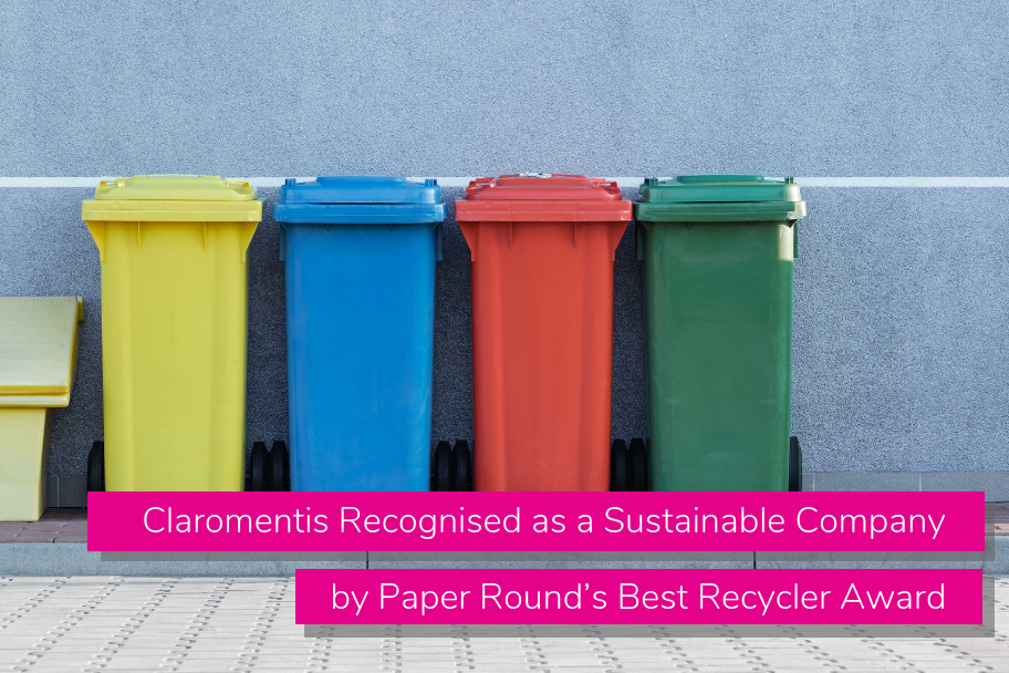 Claromentis Recognised as a Sustainable Company by Paper Round's Best Recycler Award