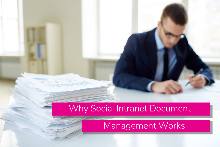 Why Social Intranet Document Management Works