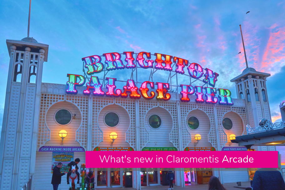 What's new in Claromentis Arcade