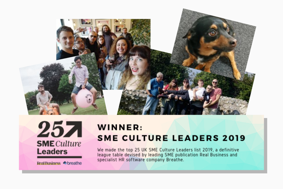 Claromentis Wins Real Business Culture Award for 2nd Year | Claromentis