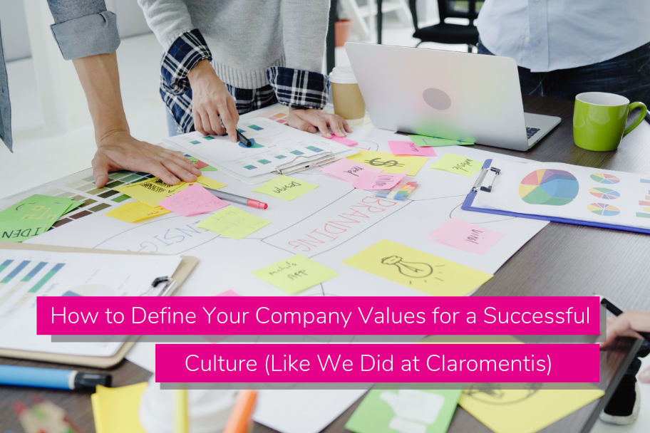 How to Define Your Company Values for a Successful Culture (Like We Did at Claromentis)