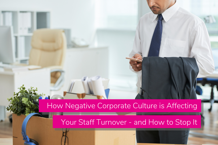 How Negative Corporate Culture is Affecting Your Staff Turnover - and How to Stop It | Claromentis