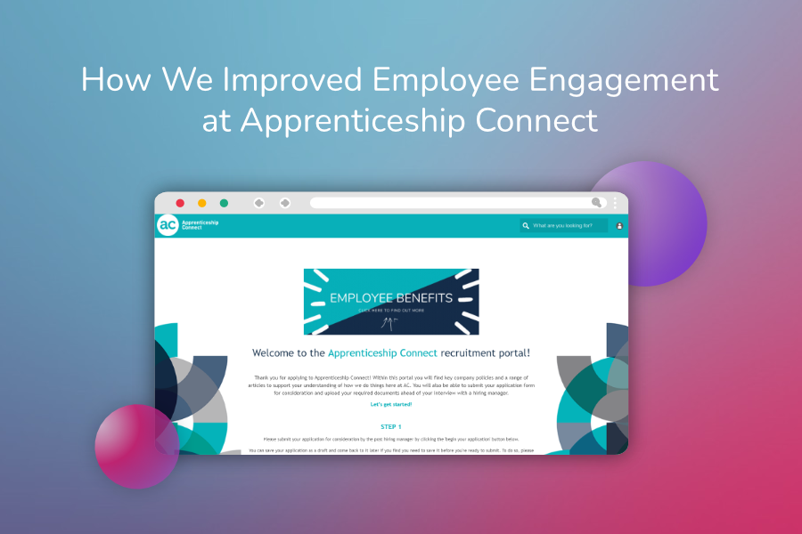 How We Improved Employee Engagement at Apprenticeship Connect