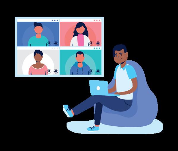 illustration-man-using-laptop-video-meeting