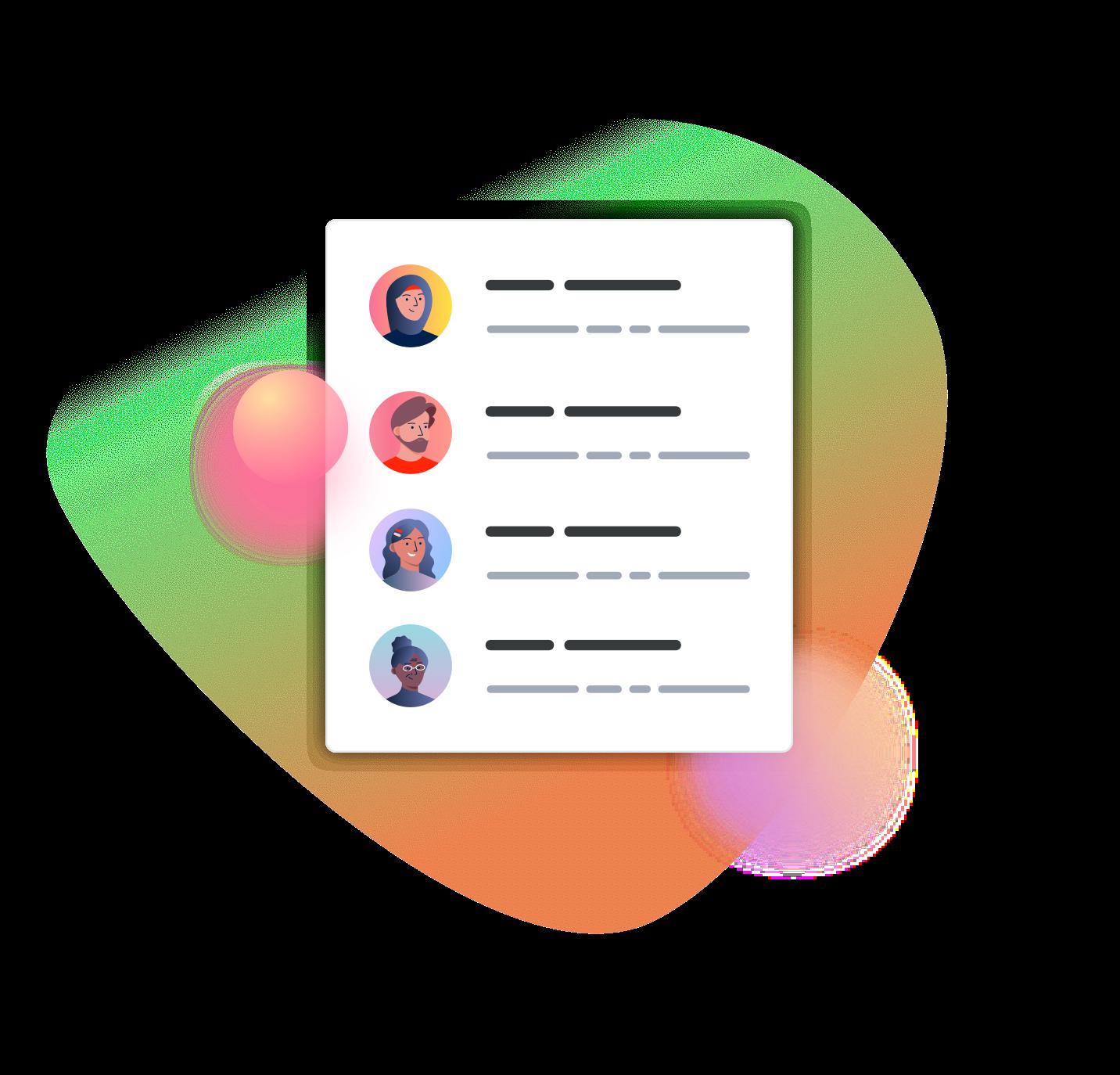 illustration-list-of-staff-members