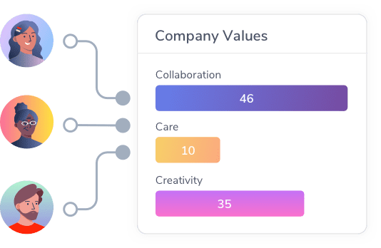 user-icons-linked-to-company-values