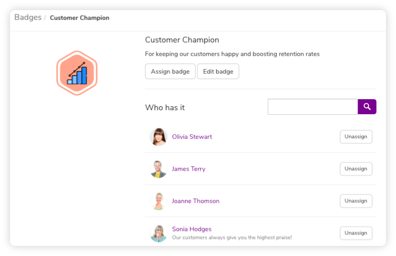list-of-users-awarded-with-customer-champion-badge