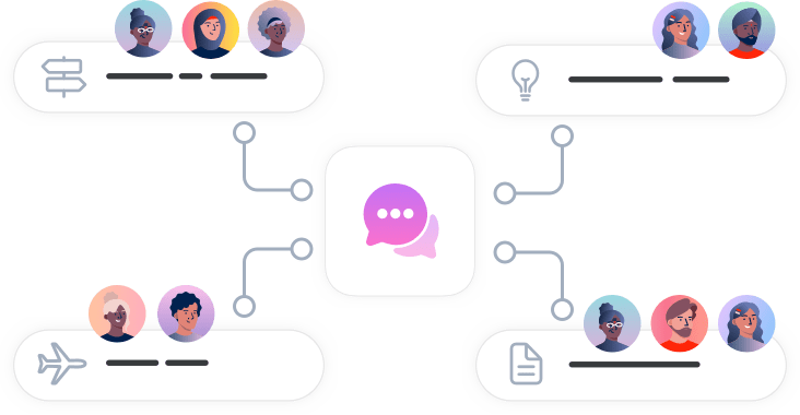 illustration-communication-app-with-different-topics